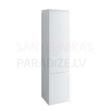 Augstais skapis Pro A, 350x335 mm, h=1650 mm, 1D, kreisā puse, balts
