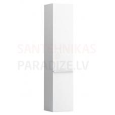 Augstais skapis Case, 350x335 mm, h=1650 mm, 1D, kreisā puse, spīdīgi balts
