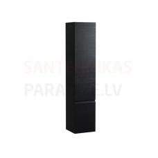 Augstais skapis Pro S, 350x335 mm, h=1650 mm, 1D, kreisā puse, graphite