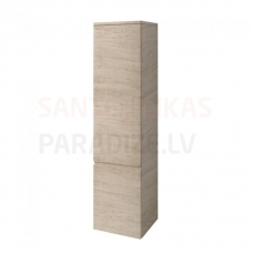 Augstais skapis Pro A, 350x335 mm, h=1650 mm, 1D, kreisā puse, bright oak
