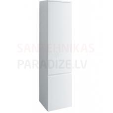 Augstais skapis Pro A, 350x335 mm, h=1650 mm, 1D, labā puse, balts