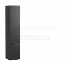 Augstais skapis Pro A, 350x335 mm, h=1650 mm, 1D, labā puse, graphite
