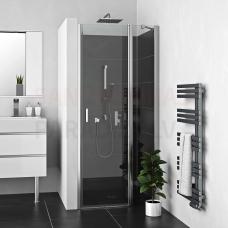 Roltechnik dušas durvis LEGA LIFT LINE LZDO1 brilliants + caurspīdīgs stikls 196x100
