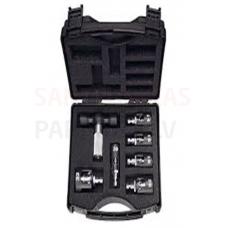 Tweetop kalibrators (komplekts) caurulēm DN 16-18-20-25-32 un kalibratora rokturis