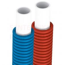 Tweetop PERT/AL/PERT daudzslāņu caurule gofrēta DN 16x2 (cena par 1 metru) sarkans